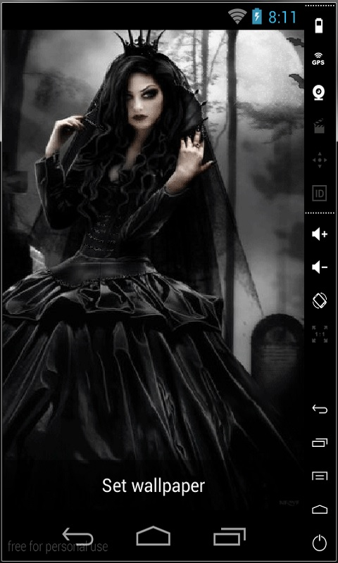 Gothic Live Wallpaper