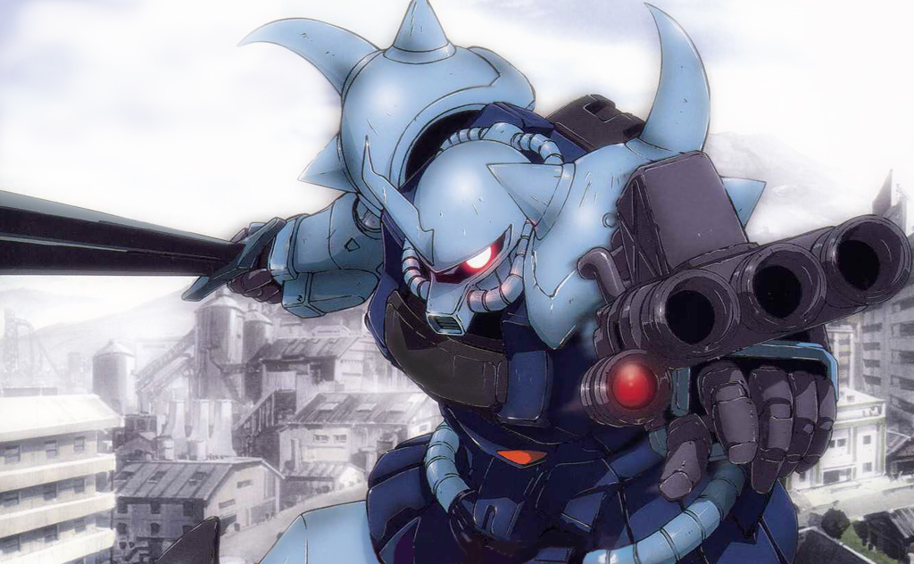 Gouf Custom Wallpaper