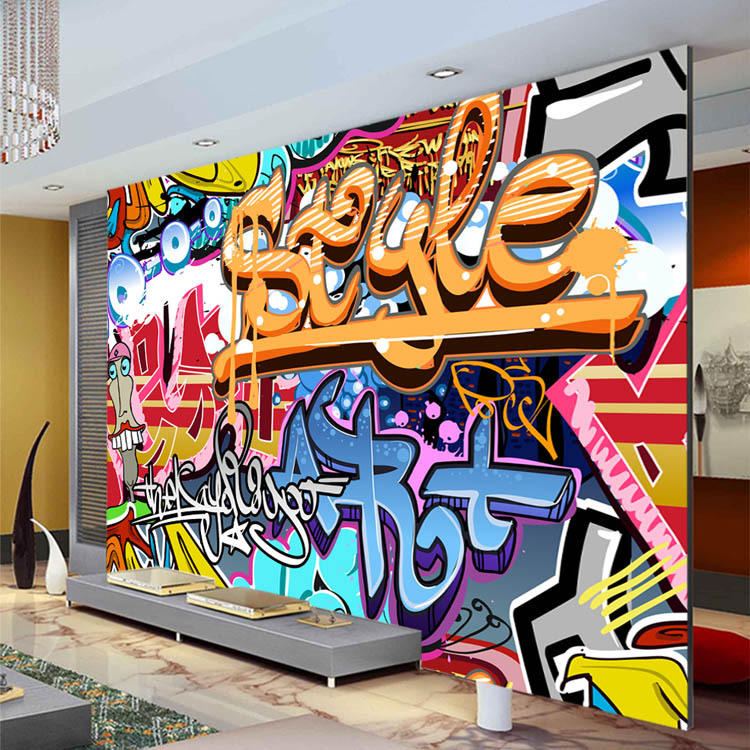 Download graffiti wallpaper for walls gallery Painting graffiti on bedroom walls