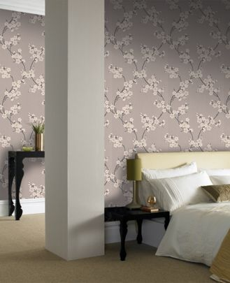 Graham And Brown Cherry Blossom Wallpaper