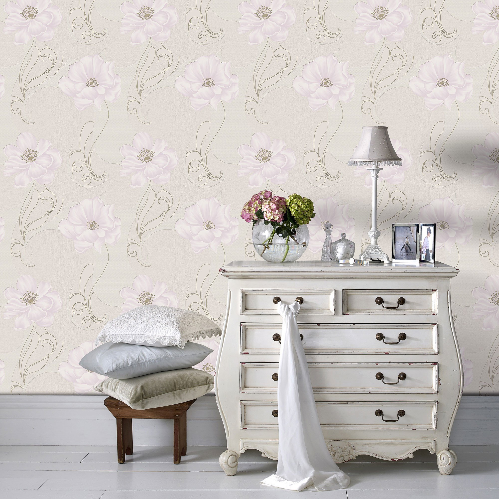download graham and brown iris wallpaper gallery. Black Bedroom Furniture Sets. Home Design Ideas