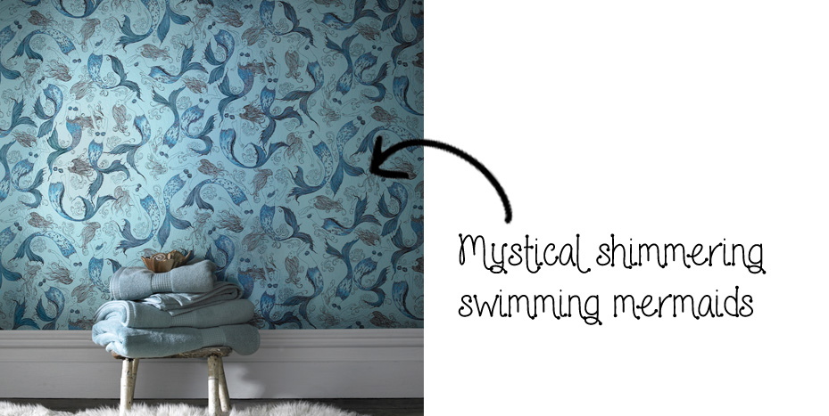 Graham And Brown Mermaid Wallpaper