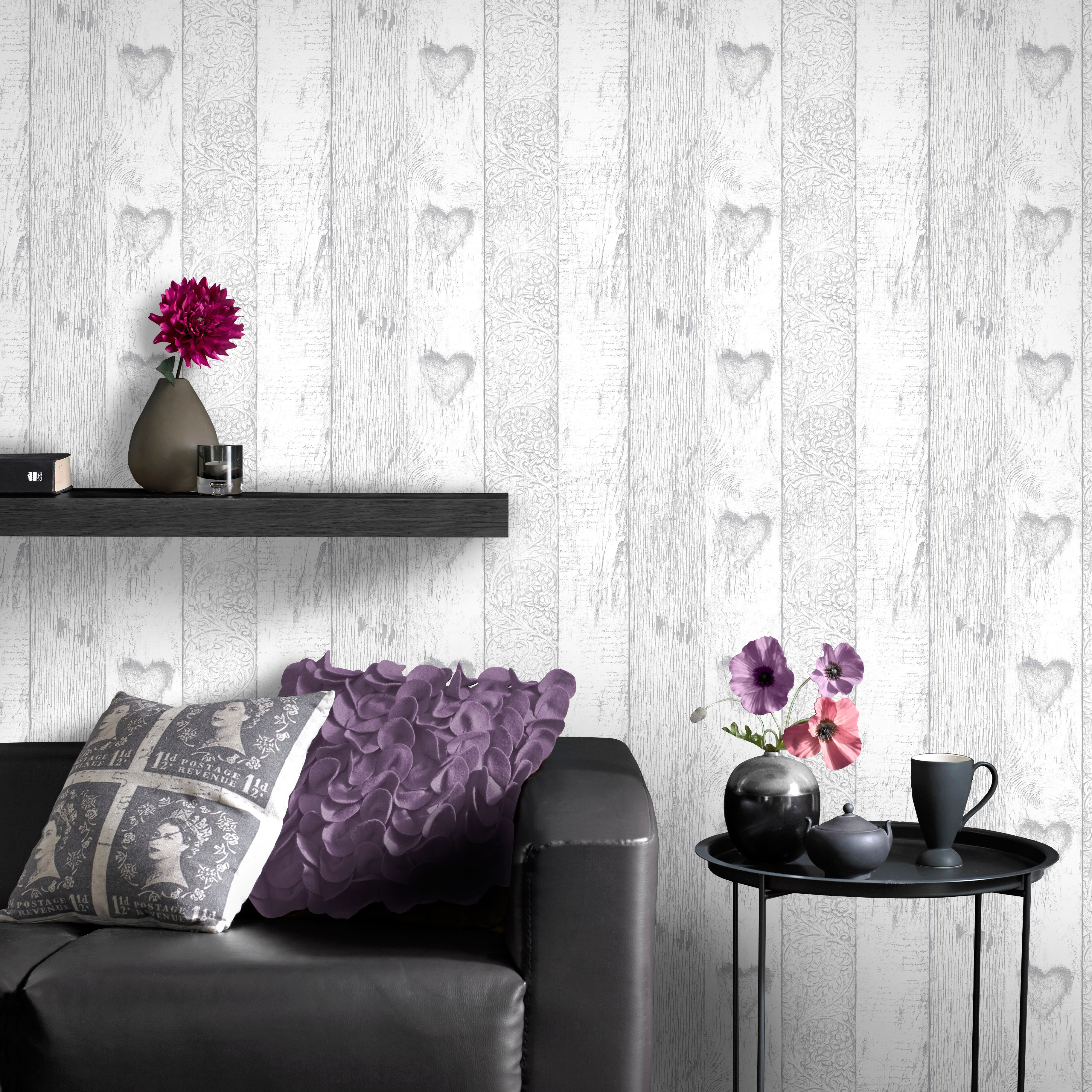 Graham And Brown Wood Effect Wallpaper