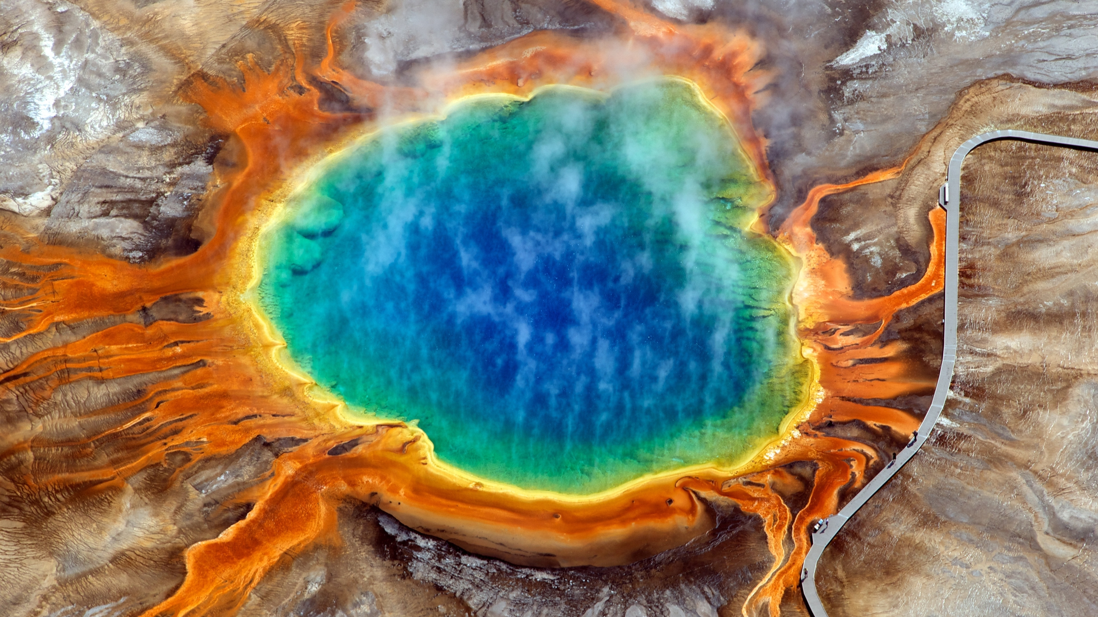 Grand Prismatic Spring Wallpaper
