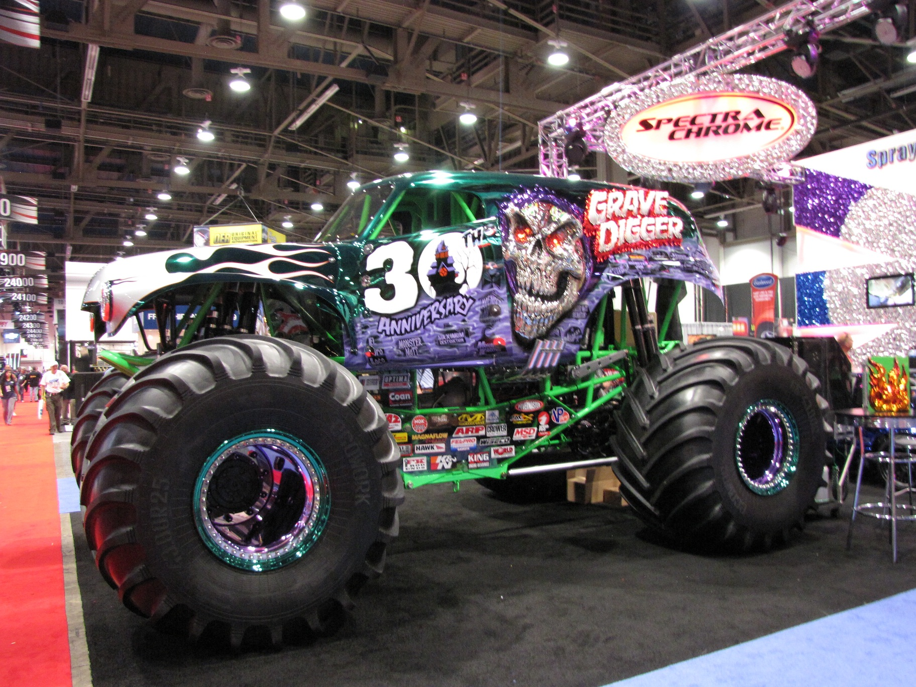 Grave Digger Monster Truck Wallpaper