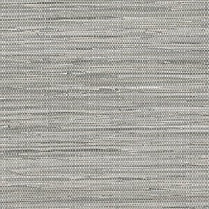 Gray Grasscloth Wallpaper