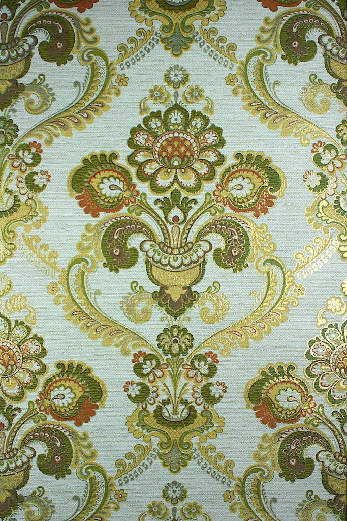 Download Green And Gold Damask Wallpaper Gallery