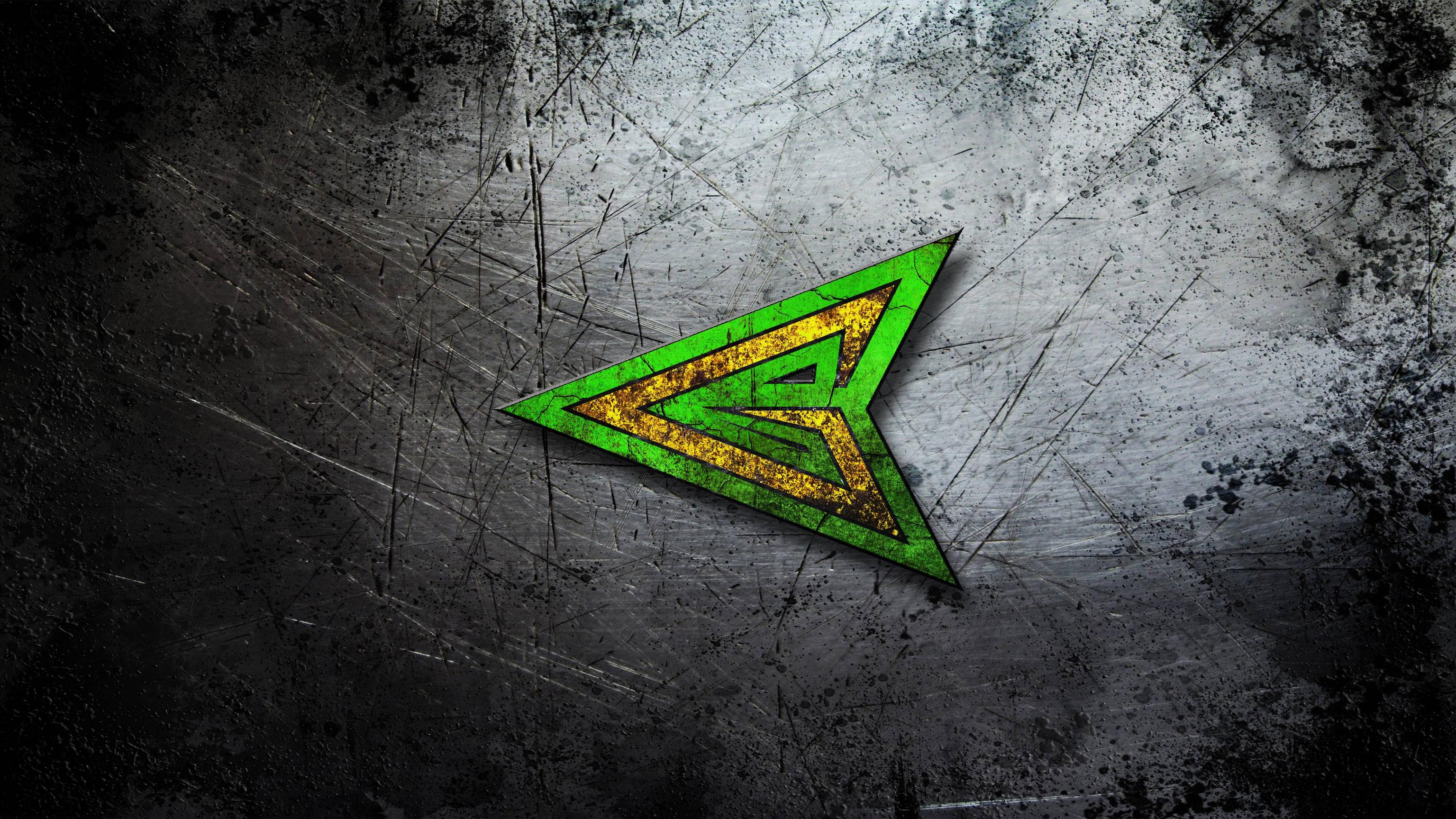 Green Arrow Logo Wallpaper