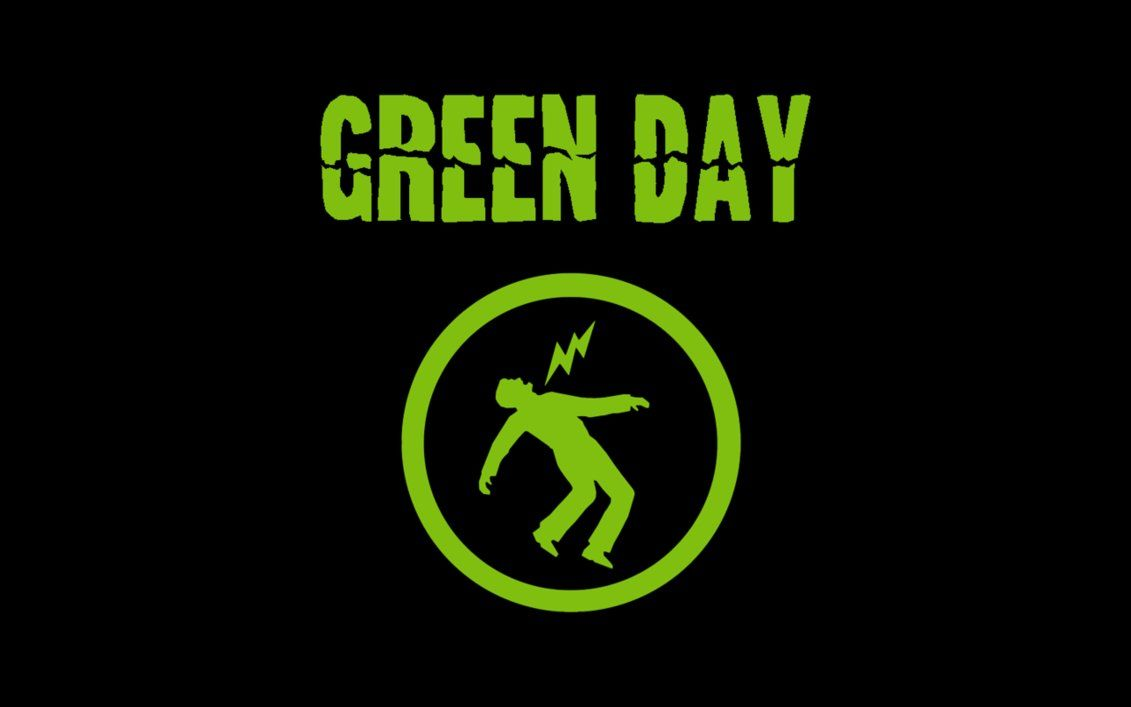 Green Day Logo Wallpaper