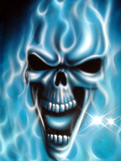 Skull Wallpapers Flaming Wallpaper Free For Mobile Source Green Fire Many HD