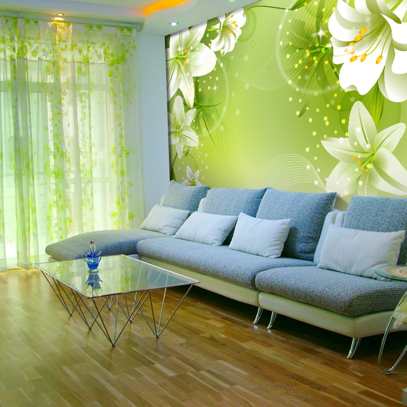 Download Green Living Room Wallpaper Gallery