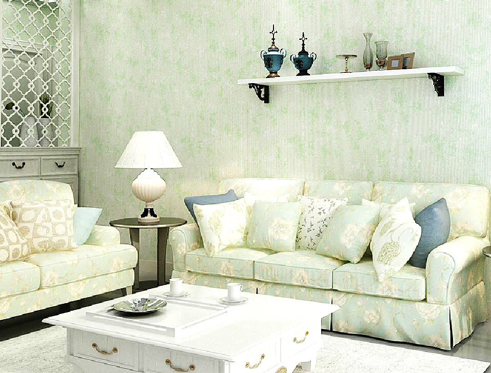 Download green living room wallpaper gallery for Green wallpaper living room