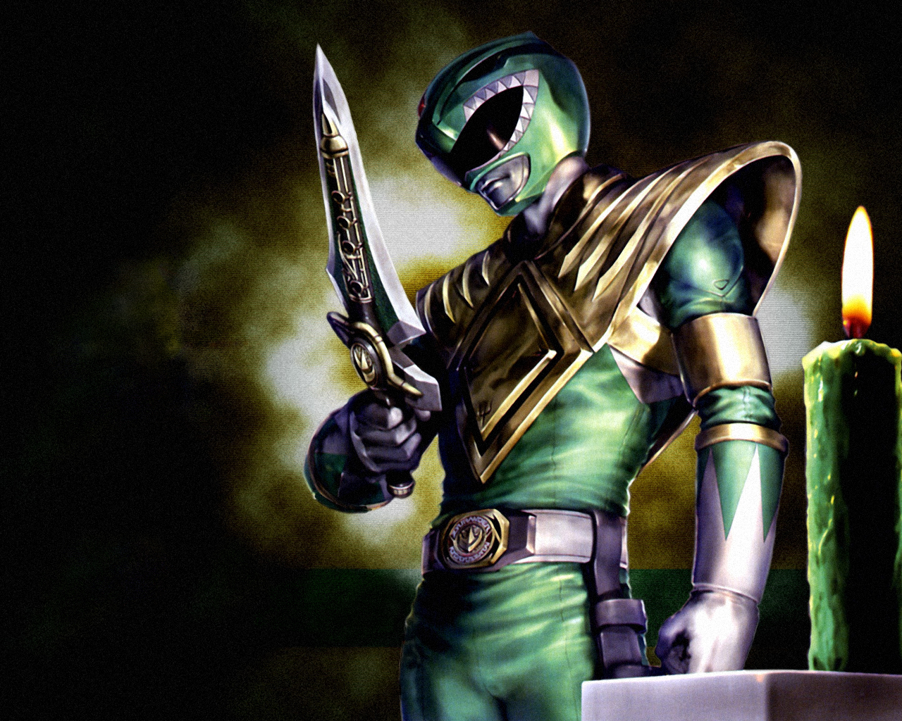 Green Power Ranger Wallpaper