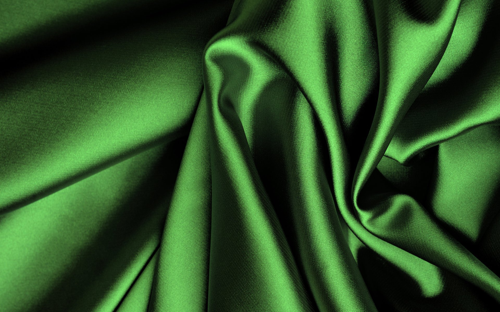 Green Silk Wallpaper