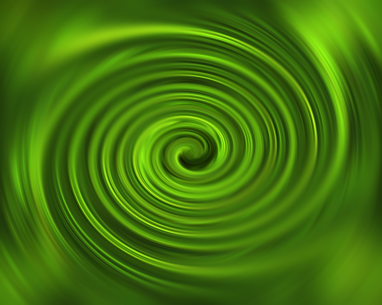 Green Swirl Wallpaper