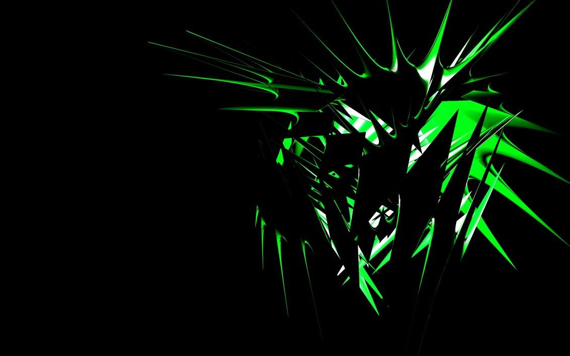 Green Tribal Wallpaper