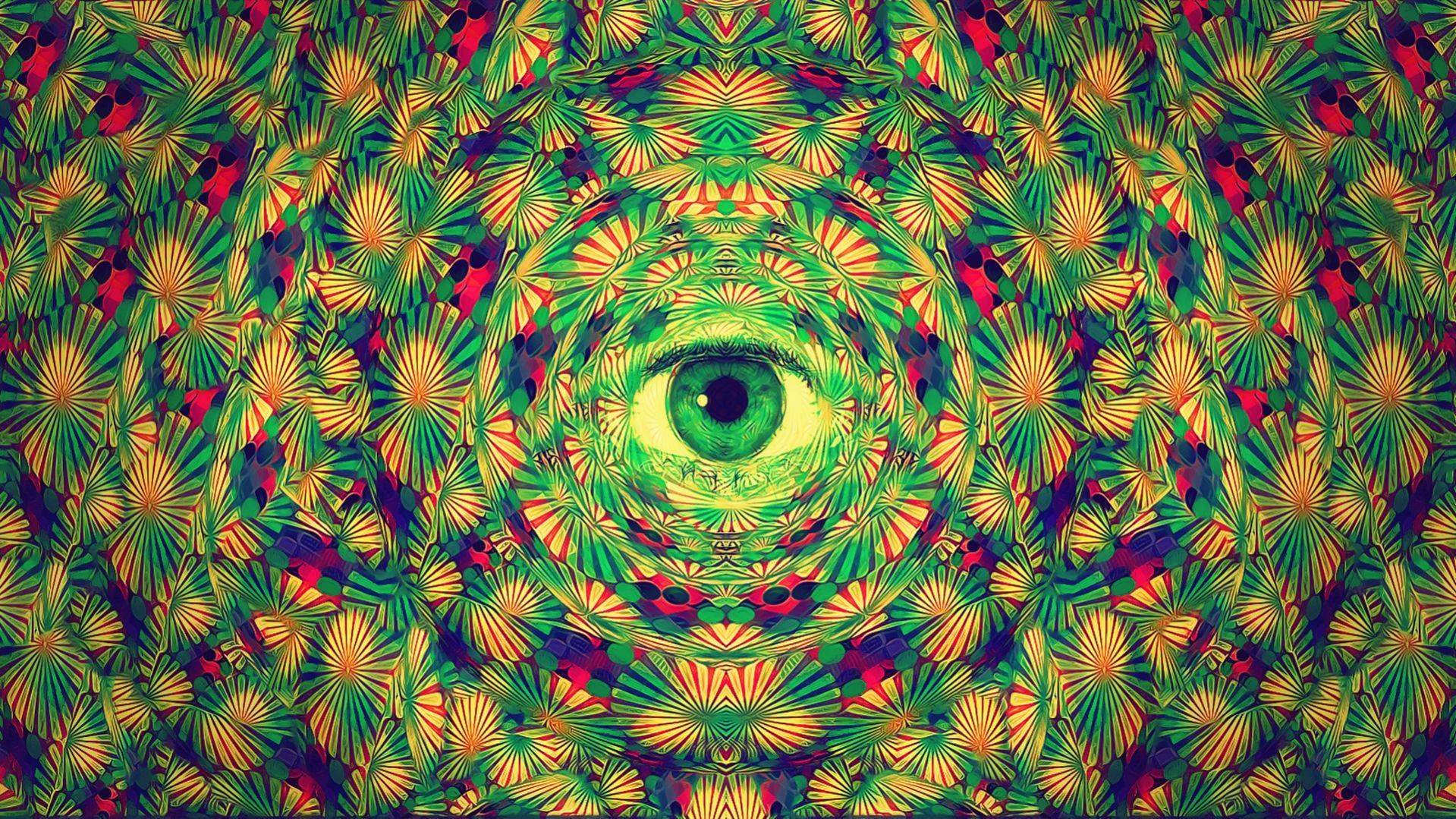 download green trippy wallpaper gallery