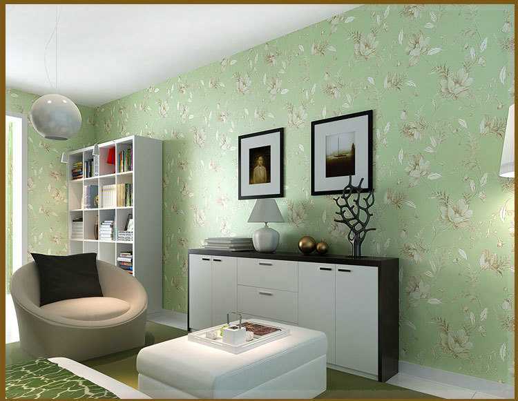 Download green wallpaper feature wall gallery for Green feature wall