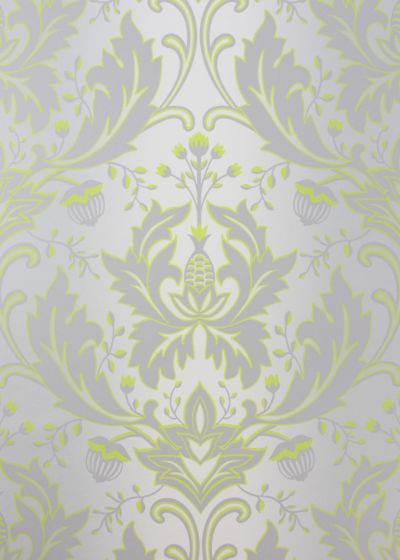 Grey And Lime Green Wallpaper