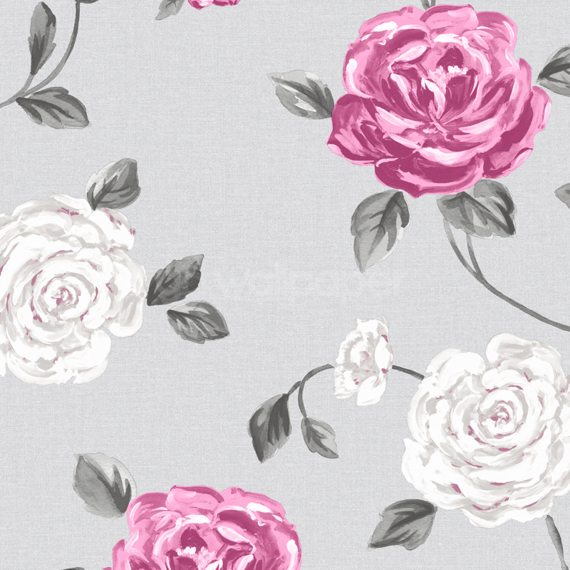 Grey And Pink Wallpaper