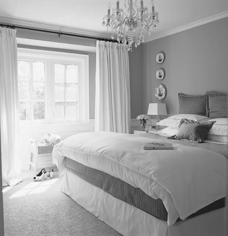 photo collection gray and white wallpaper bedroom - Grey And White Bedroom Design