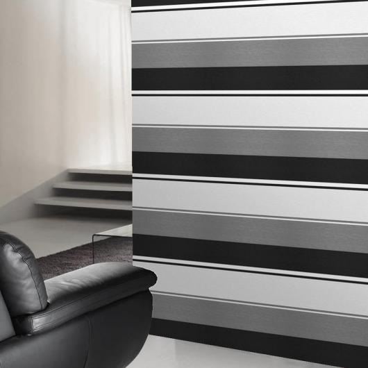 Download Grey And White Horizontal Striped Wallpaper Gallery