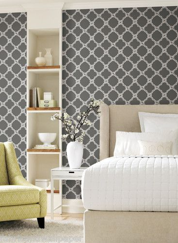 Grey And White Modern Wallpaper