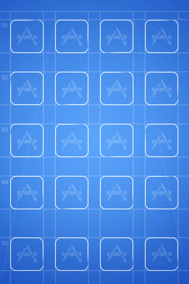Grid Iphone Wallpaper