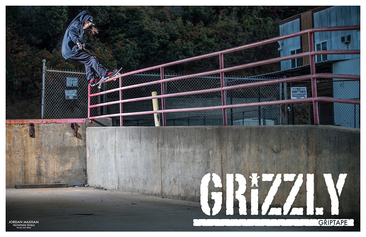 Grizzly Griptape Wallpaper