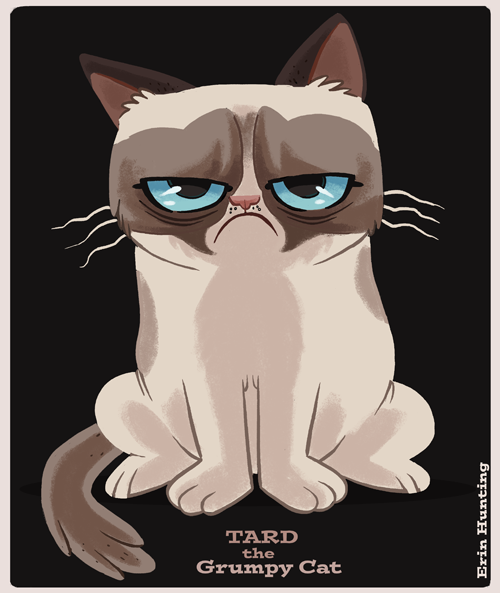 Download Grumpy Cat Cartoon Wallpaper Gallery