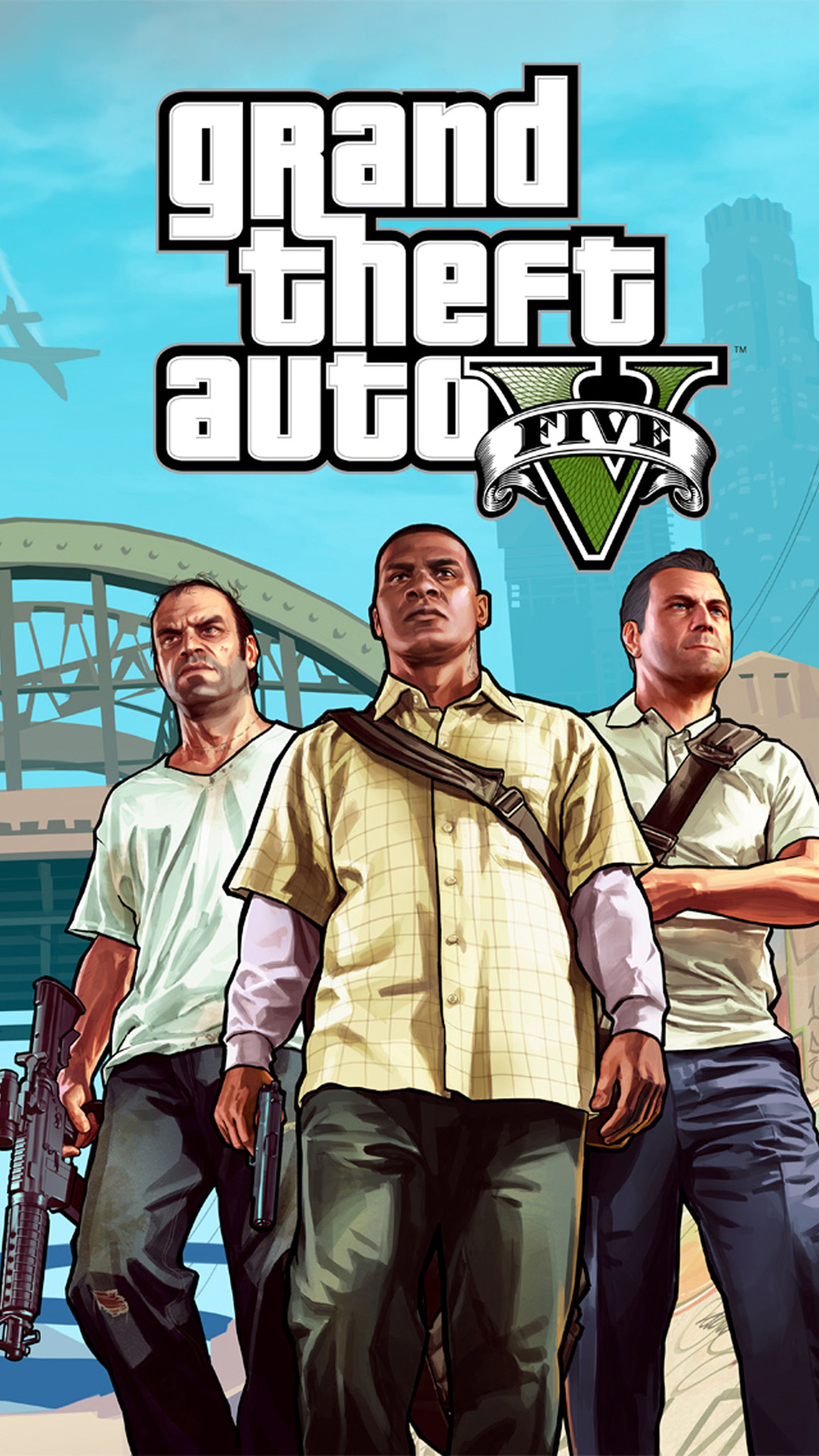 Gta 5 Android Wallpaper
