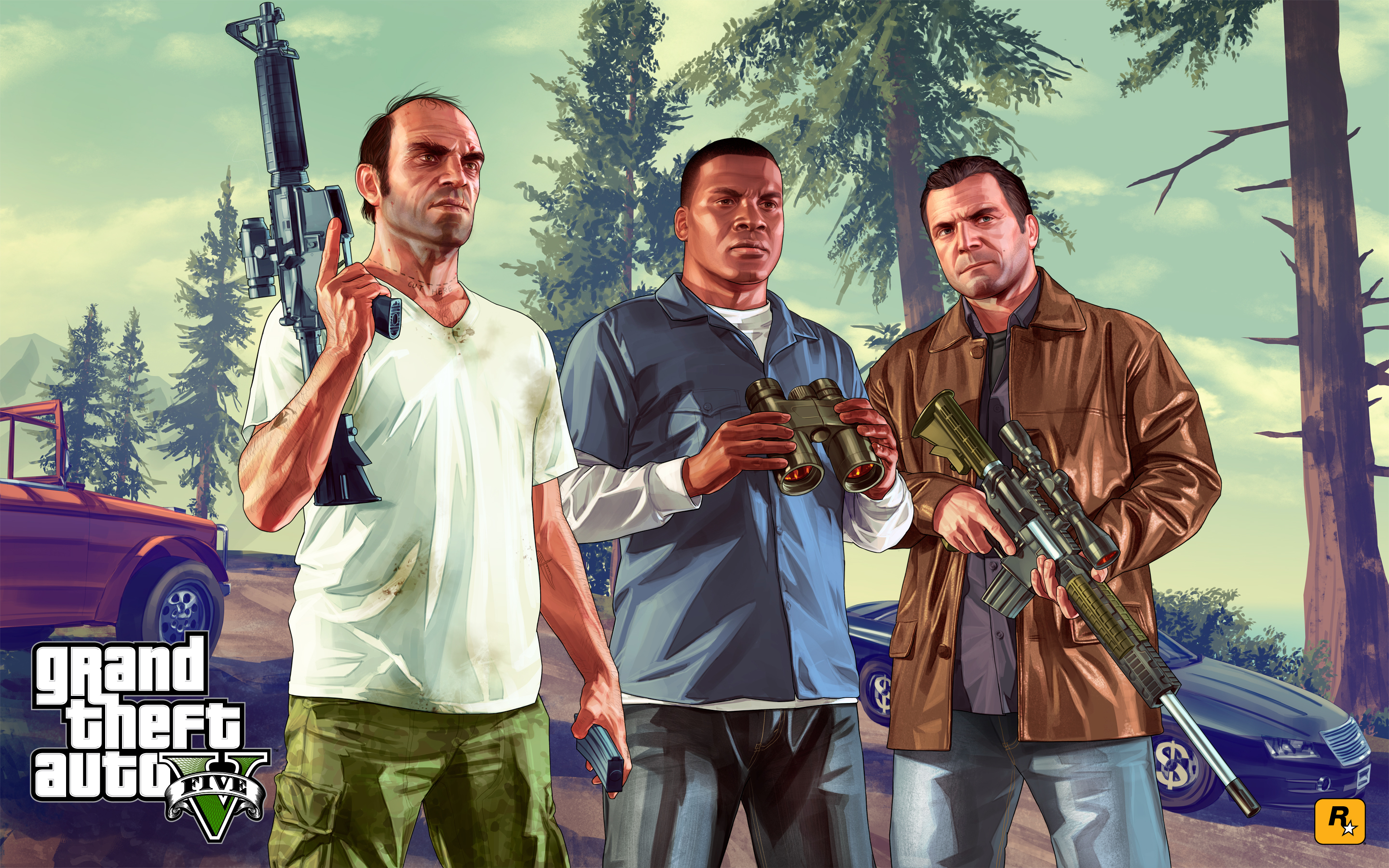 Gta 5 Full HD Wallpapers