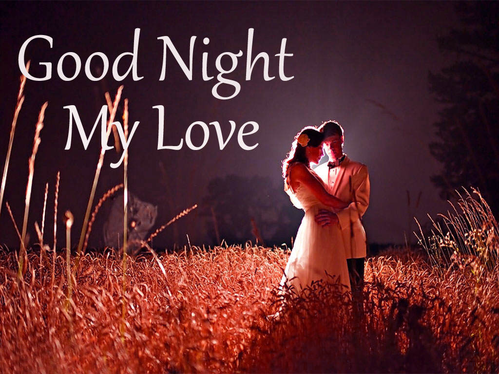 Gud Night Romantic Wallpaper