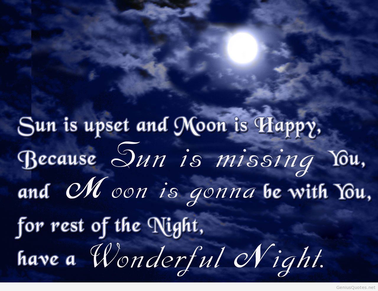 Gud Nite Wallpaper With Quotes