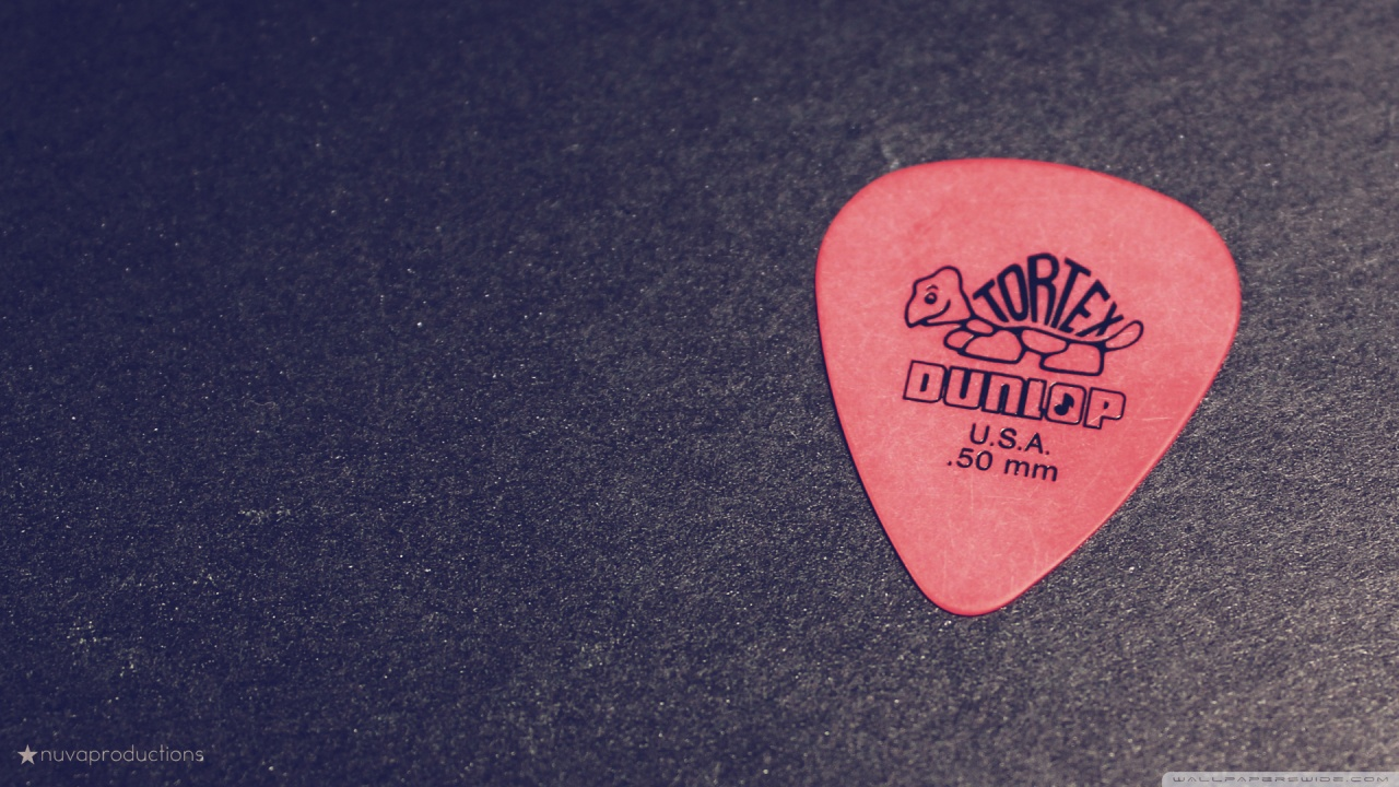 Guitar Pick Wallpaper