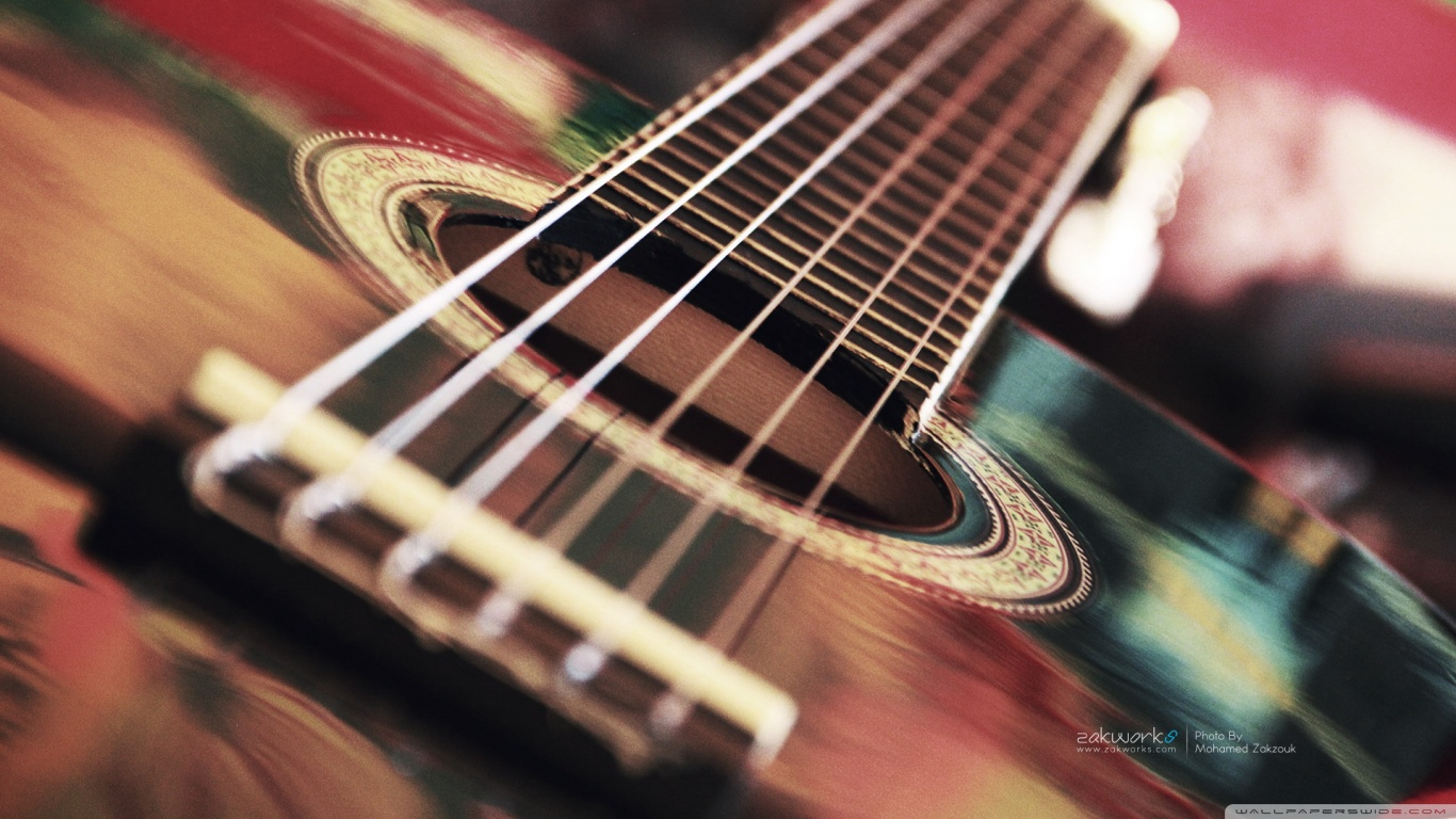Guitar Wallpapers HD 1366x768