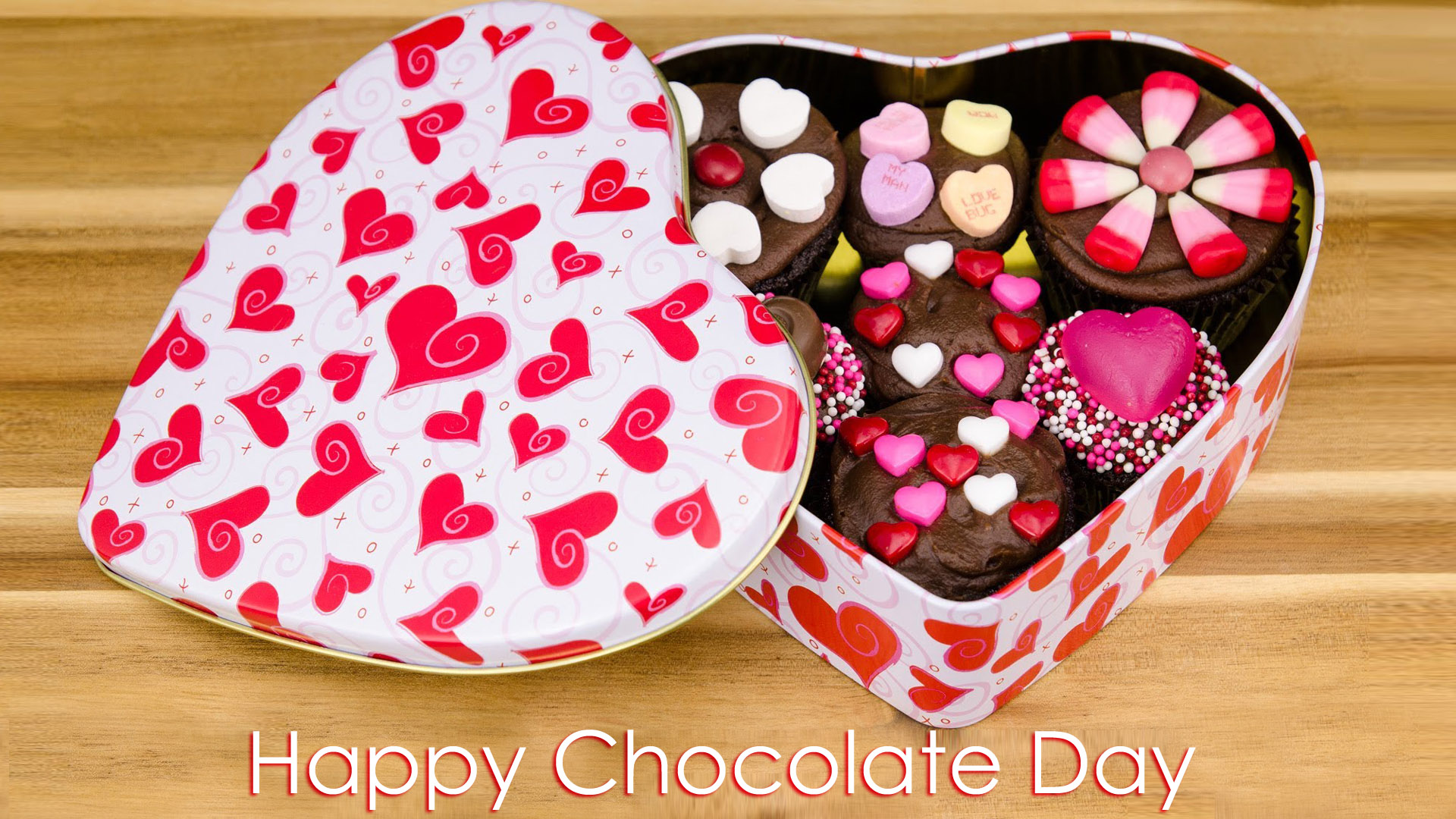 HD Chocolate Day Wallpaper