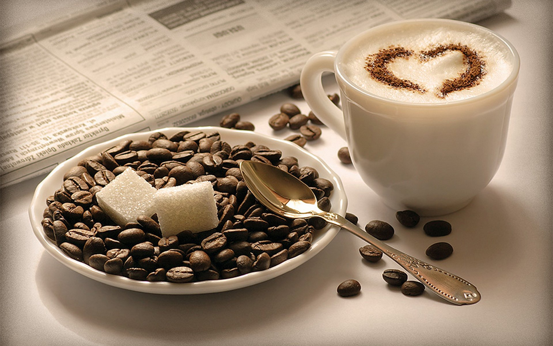 HD Coffee Wallpaper