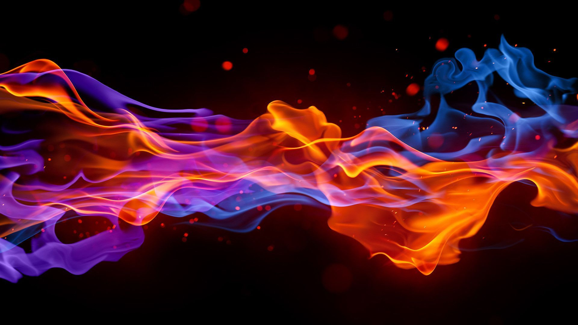 HD Fire Wallpaper