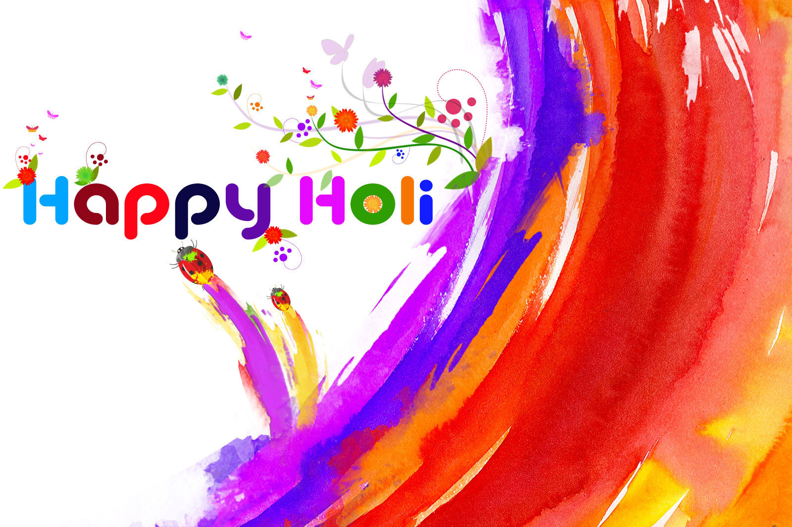 HD Happy Holi Wallpaper