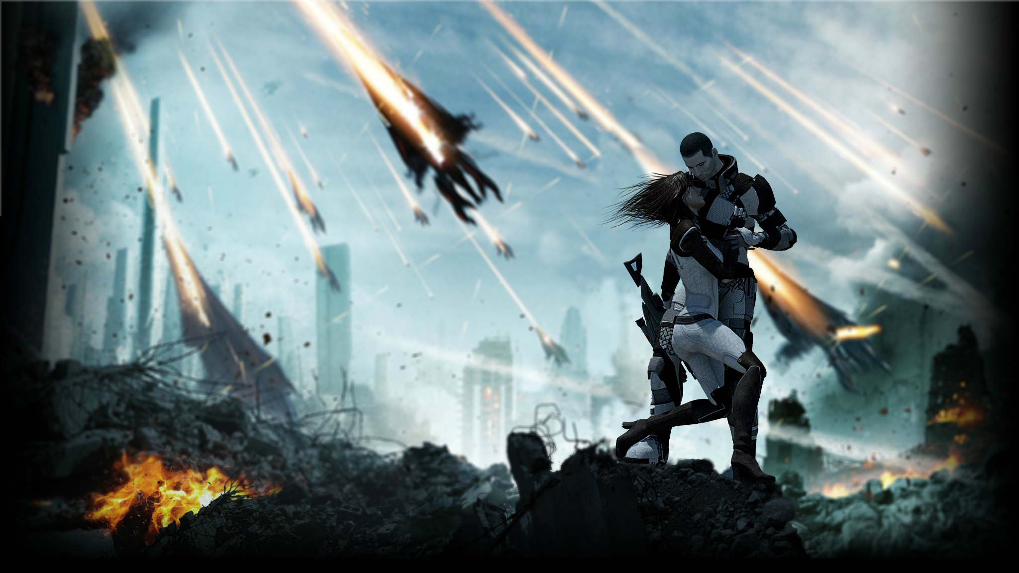 HD Mass Effect Wallpaper