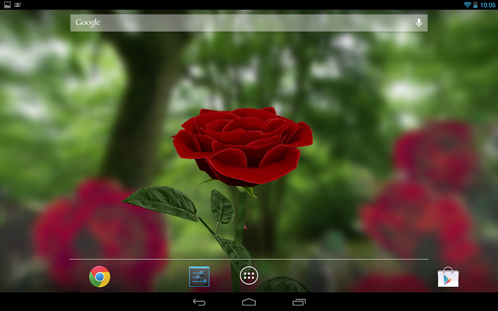 HD Rose Live Wallpaper