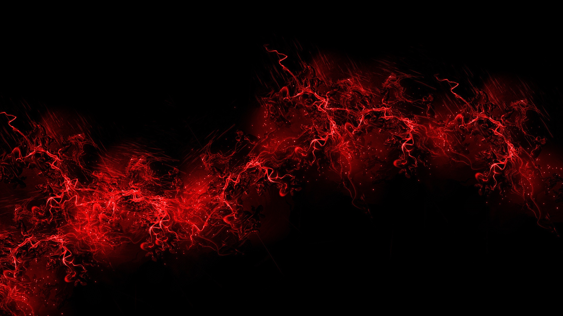 HD Wallpaper Black And Red