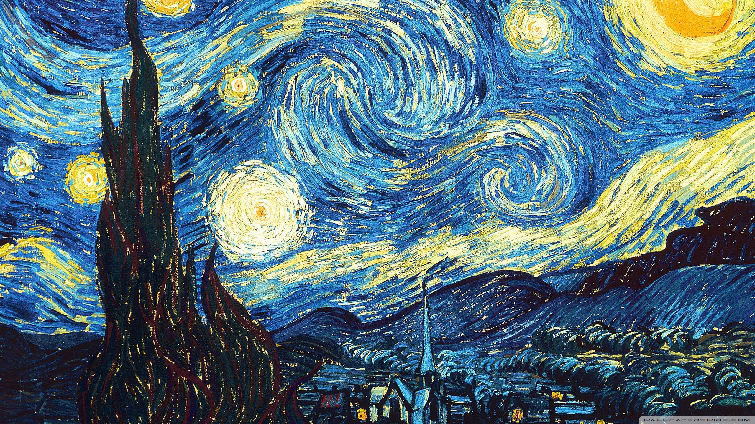 HD Wallpaper Starry Night