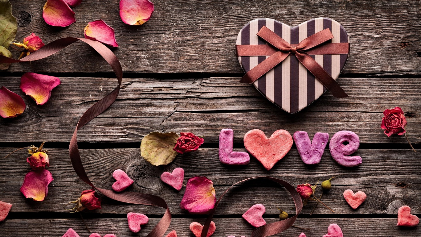 HD Wallpapers 1366x768 Love