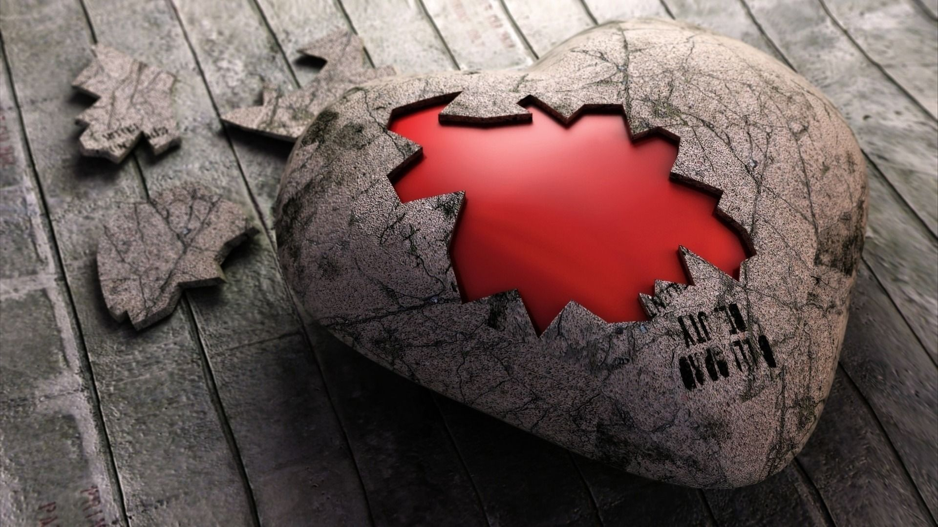 HD Wallpapers Broken Heart