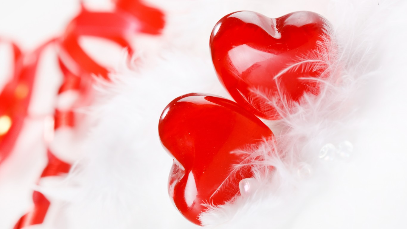 HD Wallpapers Love Hearts