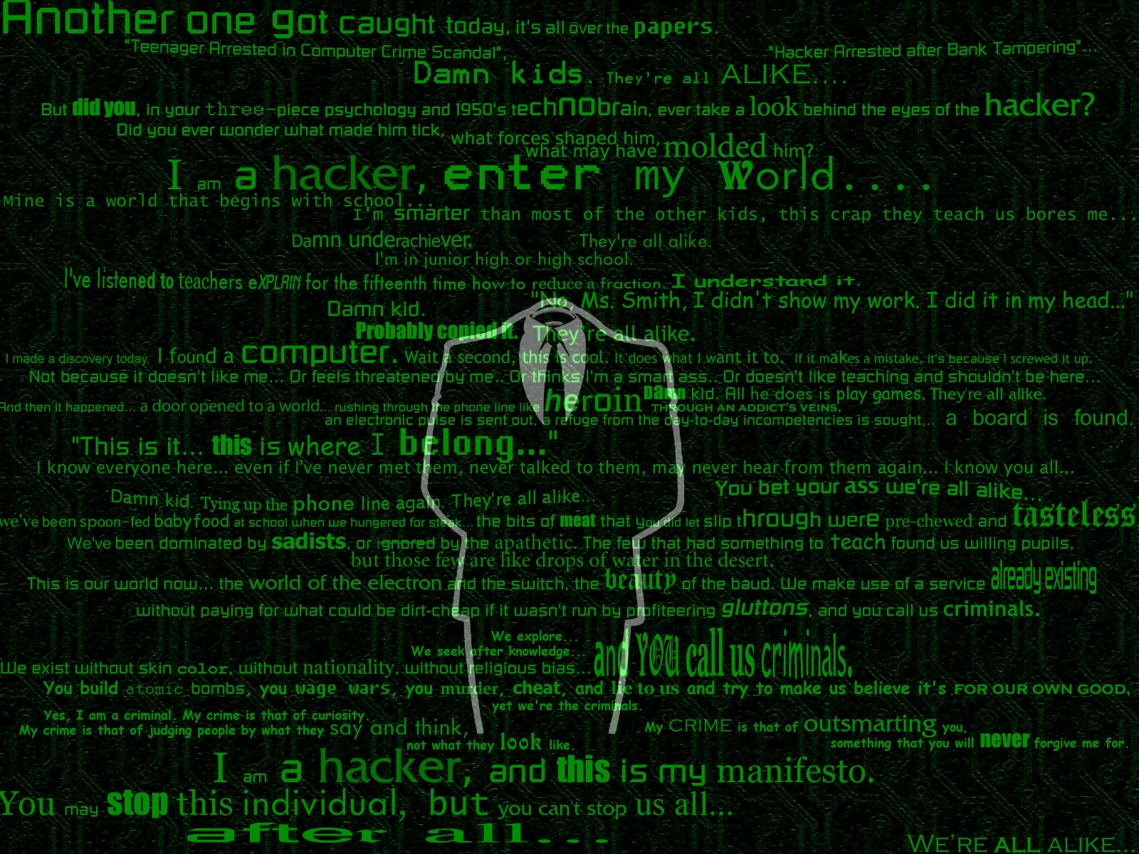 Hacker Wallpaper For Mobile