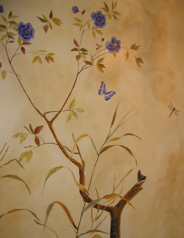 Hand Painted Wallpaper Uk