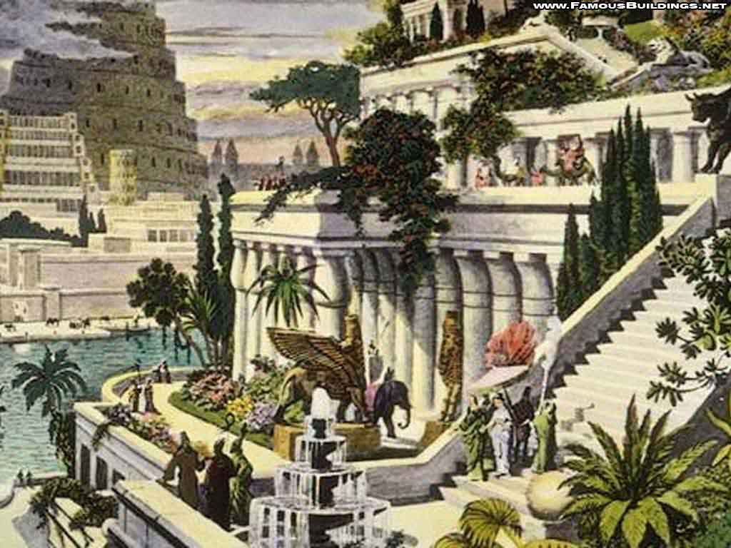 Hanging Gardens Of Babylon Wallpaper